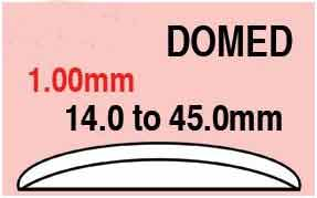 Round Domed Glass 33.7mm